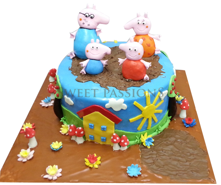 Peppa Pig Family 3d