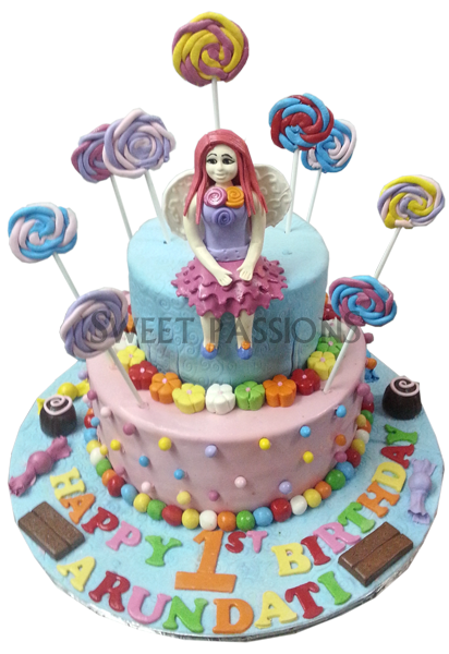 2 Tier Lollypops Girl