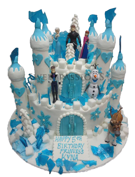 Frozen Theme Castle With Toys
