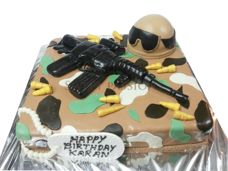 Special Army Cake