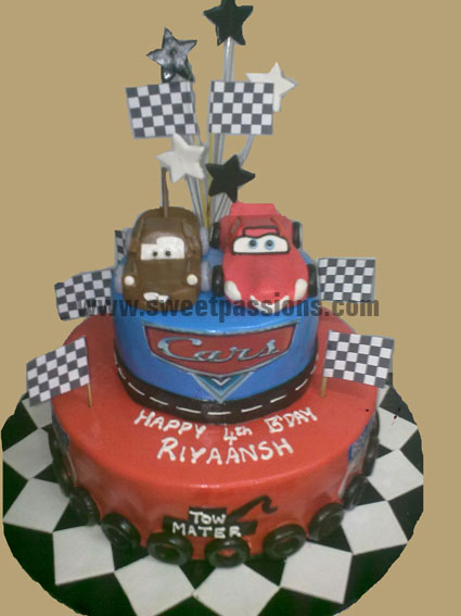2 Tier Cars Theme New