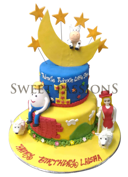 2 Tier Fairy Take Cake