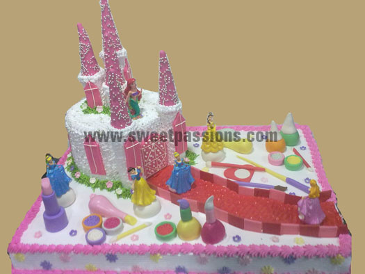 Princess Make-up Castle