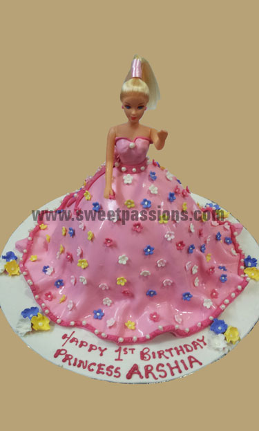Sugarpaste Doll New