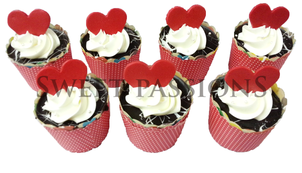 Valentine Cup Cakes